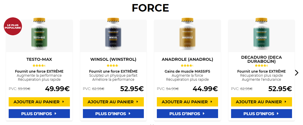 steroide anabolisant achat Test Propionate